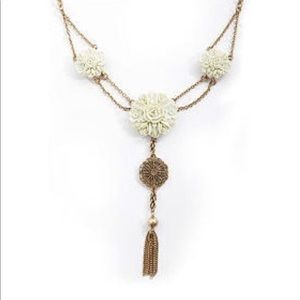Lucky brand floral necklace.